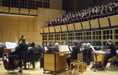 PAS: Vance George with Toledo Symphony and GC choirs Music Theater, Theatre, Goshen College, Choirs, Conductors, Orchestra, Concert, Theater, Recital