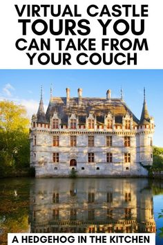 Step away from Netflix and take a virtual tour from home with these 23 virtual castle tours! Explore European castles, chateaux, palaces and from home! #virtualtravel #europe Virtual Museum Tours, Virtual Tour, Places To Travel, Places To Go, Alec Guinness, Travel Tours, Travel Ideas, Travel Destinations, Virtual Field Trips