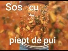 Sos cu piept de pui pentru felul doi. #1. - Invata sa gatesti Pasta, Ethnic Recipes, Youtube, Food, Essen, Meals, Youtubers, Yemek, Youtube Movies