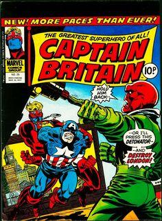 Captain Britain 25-Ron Wilson, etc-1977