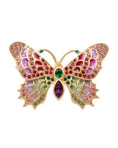 Shop Irie Embellished Butterfly Pin from Jay Strongwater at Horchow, where you'll find new lower shipping on hundreds of home furnishings and gifts. Insect Jewelry, Bird Jewelry, Butterfly Jewelry, Animal Jewelry, Jewelry Design, Butterfly Pendant, Gemstone Jewelry, Jay Strongwater, Butterfly Pin