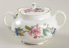 Aynsley, John Pembroke (Gold Trim) Mini Sugar Bowl & Lid