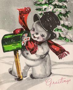 ideas for christmas tree clipart snowman Winter Christmas Gifts, Christmas Mail, Christmas Snowman, Christmas Projects, Snowman Tree, Snowman Pics, Christmas Ideas, Christmas Town, Christmas Scenes
