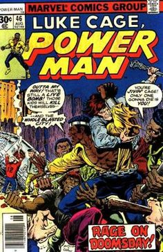 A cover gallery for the comic book Luke Cage: Power Man Power Man Marvel, Caricature, Luke Cage Marvel, Heroes For Hire, Classic Comics, Marvel Comic Books, Man Vs, Comic Book Covers, Comic Art