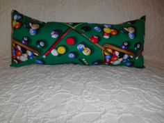 L25  1 Lumbar Travel Neck   Pool or Billiard by NoveltyPillows4All, $18.00