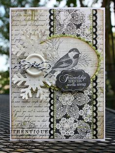 Card made by Authentique Paper DT Member Shellye McDaniel