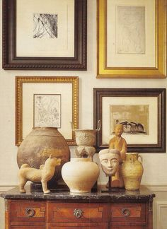 antique pottery and artifacts - Living a Life in Flower