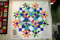 Another great layout for Storm at Sea. This has got to be one of the most versatile quilt patterns ever.