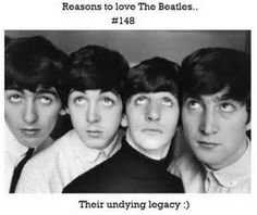 Reasons to love The Beatles.. |