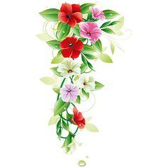 tubes fleurs / bouquets