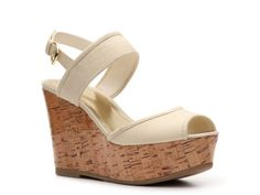 Bamboo Pippa-20 Wedge Sandal: dsw