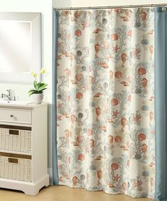Take a look at this Under the Sea Shower Curtain by Beatrice Home on #zulily today! $29.99, regular 45.00