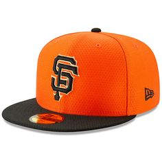becf23fa45f106 Men's San Francisco Giants New Era Orange/Black 2019 Batting Practice Home  59FIFTY Fitted Hat, Your Price: $37.99