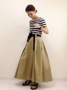 non|niko and...のスカートを使ったコーディネート - WEAR