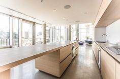 Client: Pure Cuisines et mobiliers européens - Country: Canada - City: Montréal - Project: PH3 St. Maurice - Year of creation: 2015 - Design: Pure Cuisines et Atelier Pierre Thibault #CesarKitchen #design #interiors #kitchen