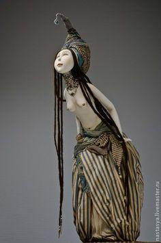 Коллекционные куклы ручной работы. Ярмарка Мастеров - ручная работа Я тебе открою тайну. Handmade.