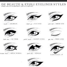 eyeliner styles <3