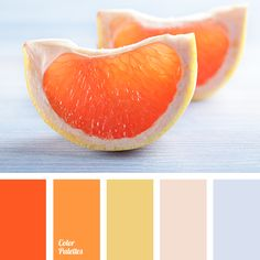 Rich orange and calm light gray suit decoration of dining area, as they will stimulate both appetite and conversations between friends..