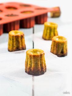 Cannelés salés pesto & parmesan sur cookeez.fr
