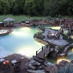 My backyard is PLENTY big enough for this!!! Yeah this could work. Needs trees and some flower pot fountains