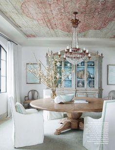 Beautiful!!!! Love love love the ceiling