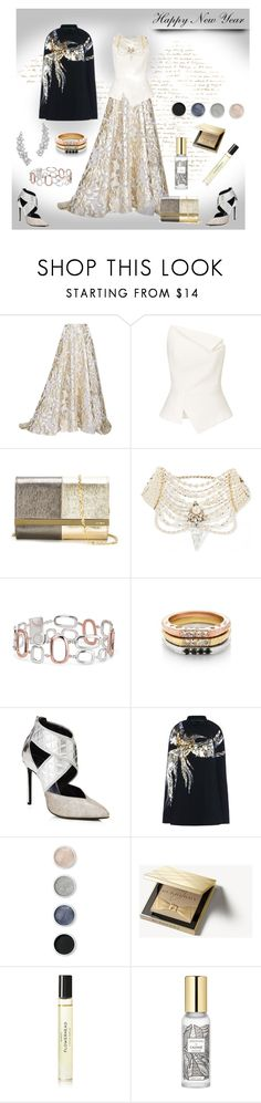 """""""Happy New Year"""" by affton ❤ liked on Polyvore featuring Lela Rose, Roland Mouret, Fendi, Erickson Beamon, Blue Nile, Lanvin, Barbara Bui, Terre Mère, Burberry and Byredo"""