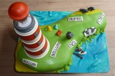 lighthouse cake (ameland)