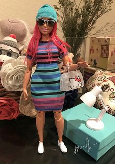 I actually love the curvy figure better! Glad they came out with this. Barbie Skipper, Barbie Dress, Barbie Clothes, Barbie Stories, Barbie Summer, Barbies Pics, Made To Move Barbie, Barbie Family, Diva Dolls