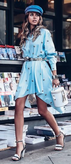 New Trend Outfit Ideas To Copy - Fashion Design Women's Daytime Dresses, 60s Dresses, Peplum Dresses, Woman Dresses, Latest Clothing Trends, Fashion Trends, Fashion News, Street Fashion, Fashion Design