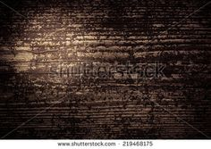 Dark brown old wooden background with light spot on the left side. - stock photo