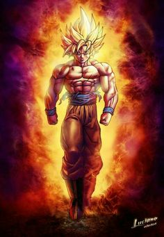 """I am the hope of the universe. I am the answer to all living things that cry out for peace. I am protector of the innocent. I am the light in the darkness. I am truth. Ally to good. Nightmare to you!"" -Goku"