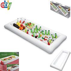 White Inflatable Salad Buffet Bar Ice Party Beer Food Picnic Cooler - Kovot #Kovot
