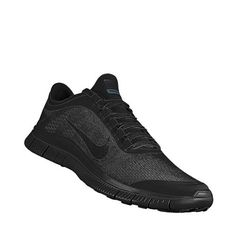 Black-on-black nike frees @Sheena Waterhouse I wanna get something like these for school