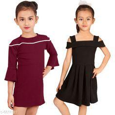 Frocks & Dresses Elegant Cotton Lycra Blend Kids Dresses Fabric: Cotton Blend Sleeve Length: Three-Quarter Sleeves Pattern: Solid Multipack: Pack Of 2 Sizes: 2-3 Years (Bust Size: 9.5 in Length Size: 21 in) Country of Origin: India Sizes Available: 2-3 Years, 3-4 Years, 4-5 Years, 5-6 Years, 6-7 Years, 7-8 Years, 8-9 Years   Catalog Rating: ★4.2 (441)  Catalog Name: Free Mask Agile Fancy Girls Frocks & Dresses CatalogID_1053415 C62-SC1141 Code: 836-6611187-
