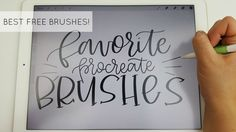 Best Free Brushes for Procreate App (My Absolute Favorites!)