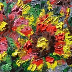 'A Gift from the Garden' ---- by Derfla (12 x 12 inches) $150
