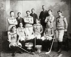 #ClosetSkellies 1899 Montreal Shamrocks, Stanley Cup Winners