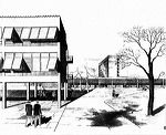 Harvard Graduate Center - Walter Gropius - Great Buildings Architecture