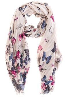 This pretty butterfly scarf features a stitching detail across the fabric and is finished with slightly frayed edges. Butterfly Scarf, Oasis Uk, Alexander Mcqueen Scarf, Autumn, Detail, Womens Fashion, Pretty, Fabric, Clothes