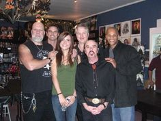 """At the signing for my film """"Fallen Angels"""" with R.A. Mihailoff, Michael Kaliski, Rick McCallum, Reggie Bannister and Rick Irvin."""