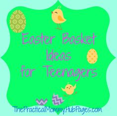 The best easter basket ideas for 2 year old boys pinterest here is a list of fun easter basket ideas for teens from games to snacks negle Choice Image