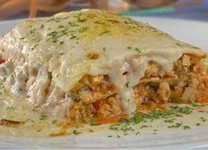 Lasagna de Pollo, Recetas con Pasta, Recetas Fáciles de Cocina #recetas #recetasfaciles #recetasdecocina #recetasgratis