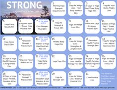 May 2017 FWFG Yoga Calendar - STRONG — Sarah Beth Bowman