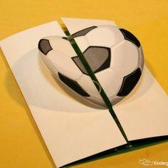 """Geburtstags-Einladung """"Fußball"""""""