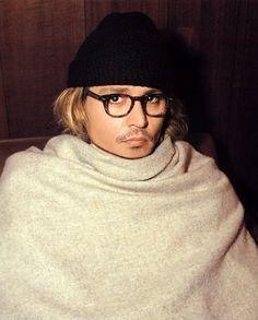 Jonny Depp's snuggie