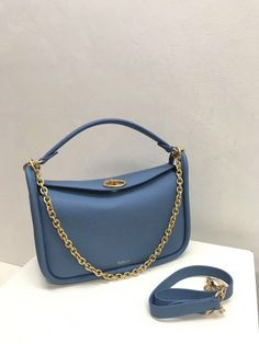 182b015b210 2018 Mulberry Small Leighton Bag in Lavender Blue Small Classic Grain  Leather -   Mulberry Outlet UK Team, Mulberry Outlet UK with off.Buy New Mulberry  Bags ...