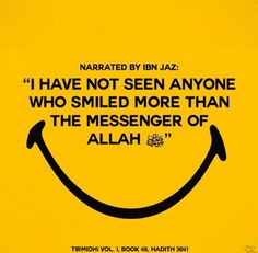 Smile its sunna and its is better than being harsh and hard
