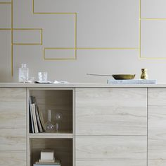 Create a modern look of ash in the kitchen with ASKERSUND fronts featuring a surface that stands up to scratches and moisture. #IKEA #ASKERSUND #fronts