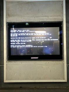 Park Street station advertisement #bsod #pbsod