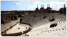 The Theatre at Leptis Magna, Libya